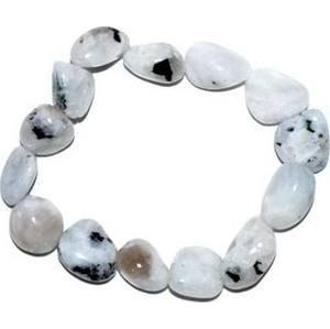 Rainbow Moonstone gemstone bracelet
