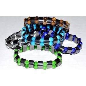 Magnetic Amethyst bracelet w/ Beads