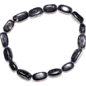 Black Tourmaline nuggett bracelet