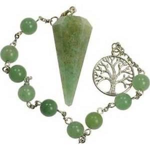 Green Aventurine Pendulum Bracelet