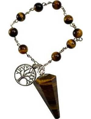 Tiger's Eye Pendulum Bracelet