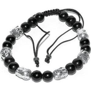 Balck with 6 Buddha Bead