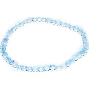 4mm Opalite stretch bracelet