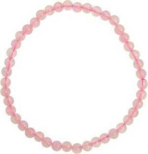 4mm Rose Quartz Stretch Bracelet