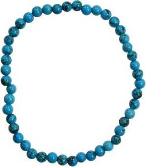4mm Turquoise Stretch Bracelet