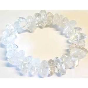 Quartz gemstone bracelet stretch
