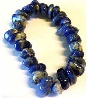 Sodalite gemstone bracelet stretch