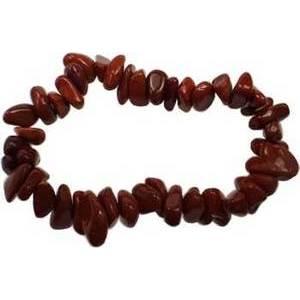 Jasper, Red chip bracelet