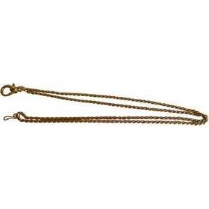 Loupe Chain Gold Colored