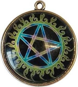 Pentagram Dome Pendant