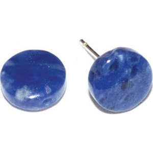 Sodalite stud earrings