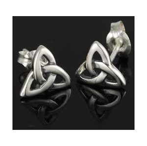 Triquetra Post Earrings