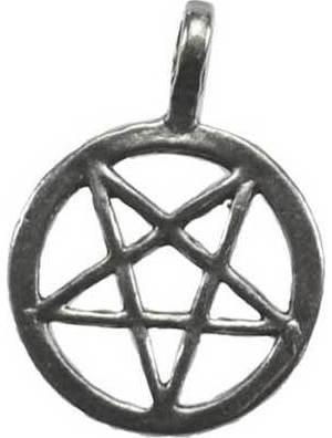 Inverted Pentagram Necklace