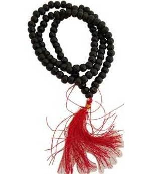 Black Tulsi Japa Mala