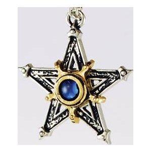 Medieval Pentagram Pendant