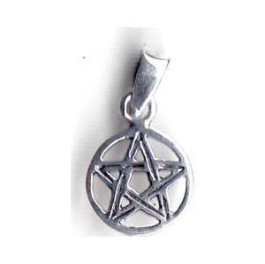 "3/8"" Pentagram sterling"