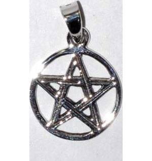 "1/2"" Pentagram sterling"