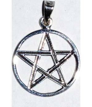 "3/4"" Pentagram sterling"