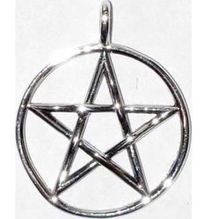 "1"" Pentagram sterling"