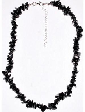 "18"" Shungite chip necklace"