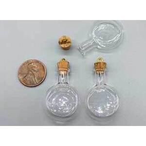12 pack Flask, Large spell bottle