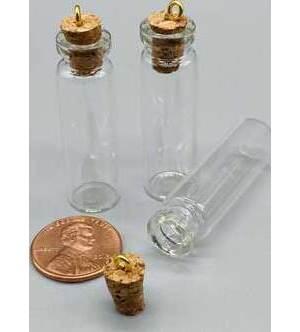 12 pack Jar, 45x12mm spell bottle