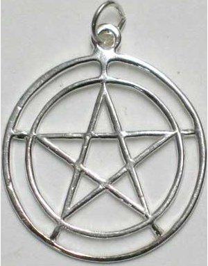 2-Circle Pentagram Pendant