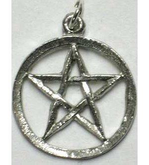 Pewter Pentagram Pendant