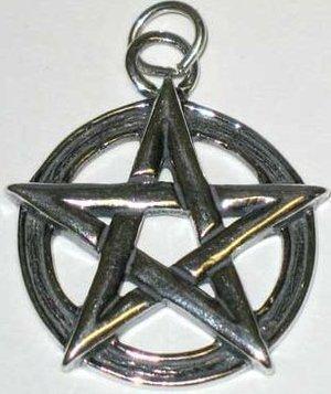 Pentagram Sterling Pendant