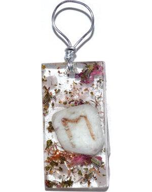 Divine Marriage Orgone rune pendant