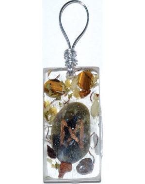 Intuition Orgone rune pendant