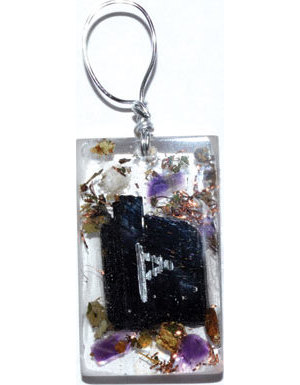 Protection Orgone rune pendant