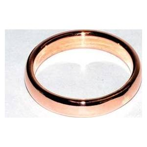 4mm Dome Band size 8 copper