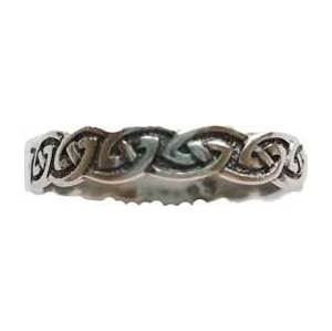 Celtic Knot ring size 10 sterling