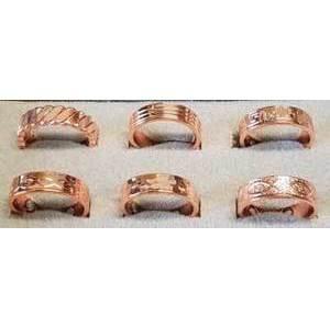 Copper Magnetic adjustable ring