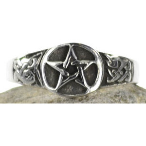 Pentagram Ring Size 11