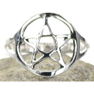 Pentagram Ring Size 10