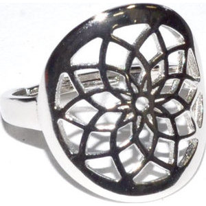 Dreamcatcher size 7 sterling ring