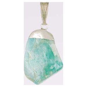 Emerald Tumbled Pendant