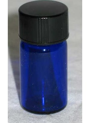 5/8dr Bottles Blue Round