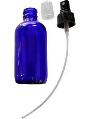 4oz Blue Bottle With Spray