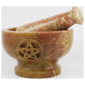 Pentagram Mortar & Pestle