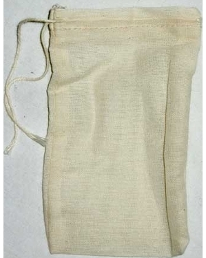 "500pk Cotton Tea Bags 3""X5"""