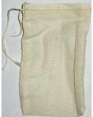 "100pk Cotton Tea Bags 3""X5"""