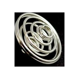 """1"""" Silver Plated Coil"""
