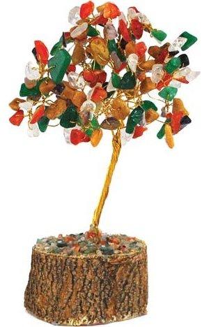 Mixed Gemstone Tree 160 Beads