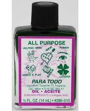 4dr All Purpose Oil