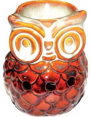 """3 3/4"""" Owl oil diffuser"""