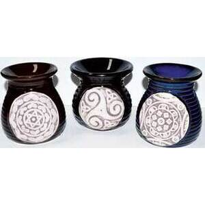 """3 1/2"""" Ethnic Symbols oil diffuser (set of 3)"""