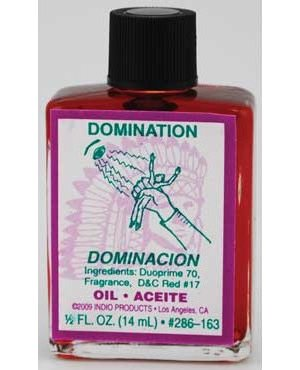Domination Oil 4 dram